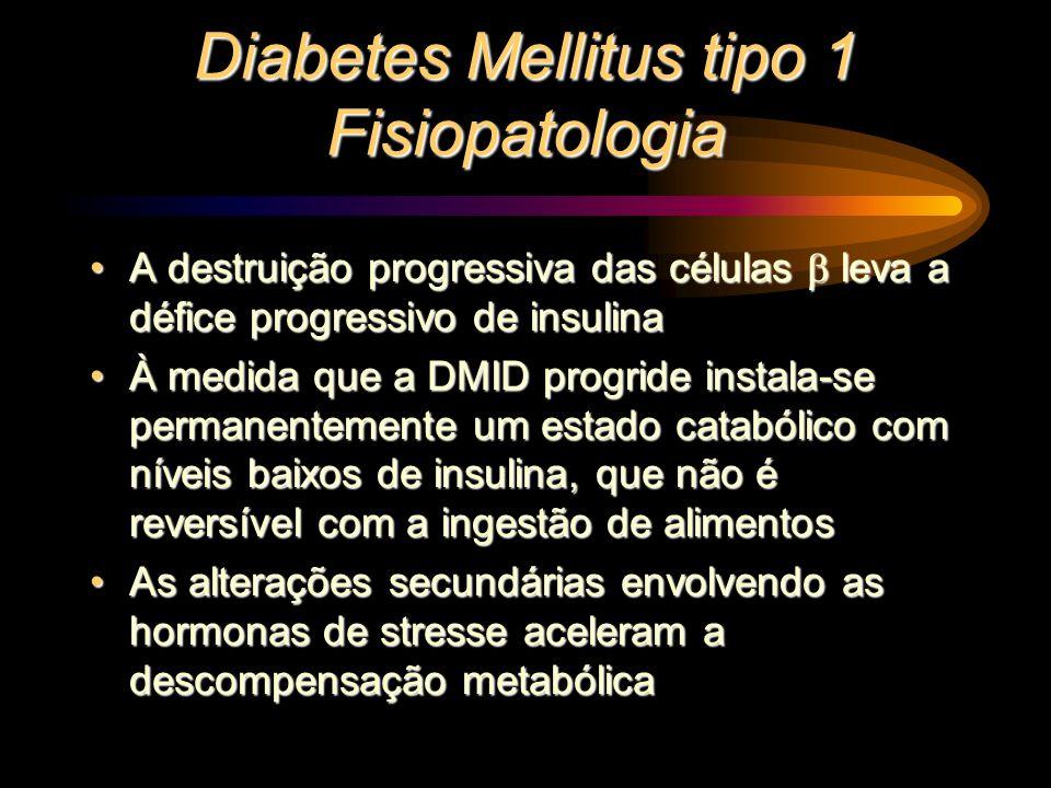 A destruição progressiva das células leva a défice progressivo de insulinaA destruição progressiva das células leva a défice progressivo de insulina À