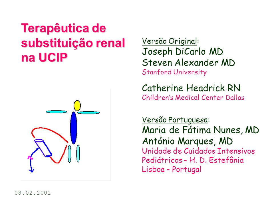 Versão Original: Joseph DiCarlo MD Steven Alexander MD Stanford University Catherine Headrick RN Childrens Medical Center Dallas Terapêutica de substi