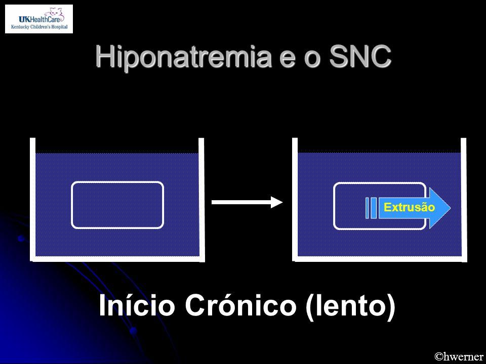 ©hwerner Hiponatremia e o SNC Extrusão Início Crónico (lento)