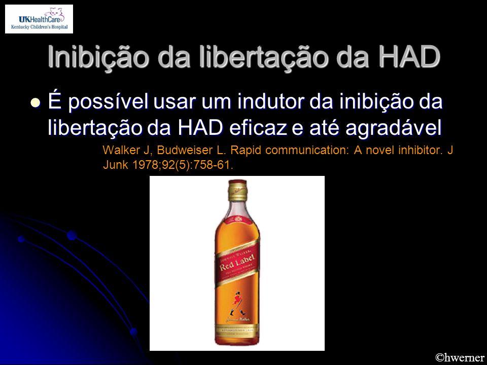 Inibição da libertação da HAD É possível usar um indutor da inibição da libertação da HAD eficaz e até agradável É possível usar um indutor da inibiçã