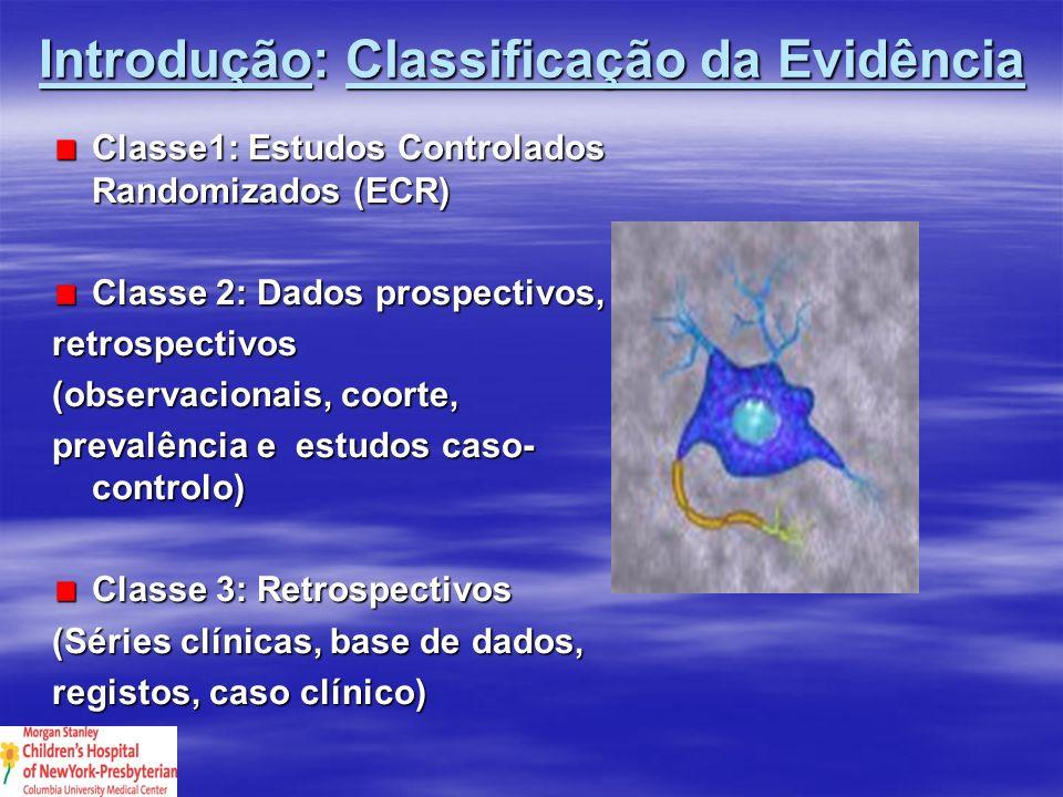 Corticoesteroídes e TCE Padrão: nenhum Guias de orientação: nenhum Opções: a.
