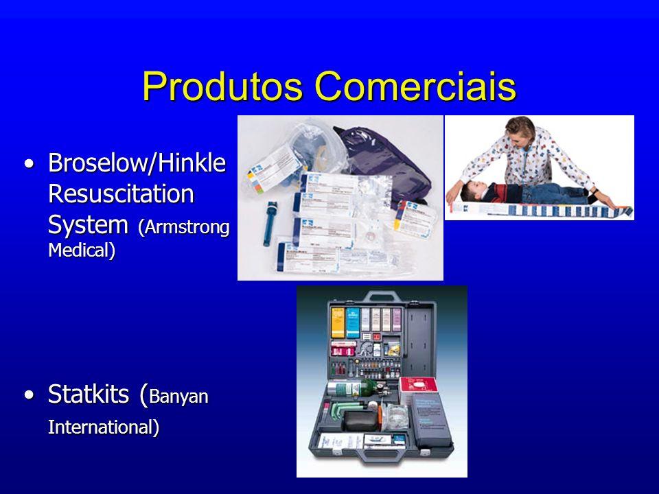 Produtos Comerciais Broselow/Hinkle Resuscitation System (Armstrong Medical)Broselow/Hinkle Resuscitation System (Armstrong Medical) Statkits ( Banyan