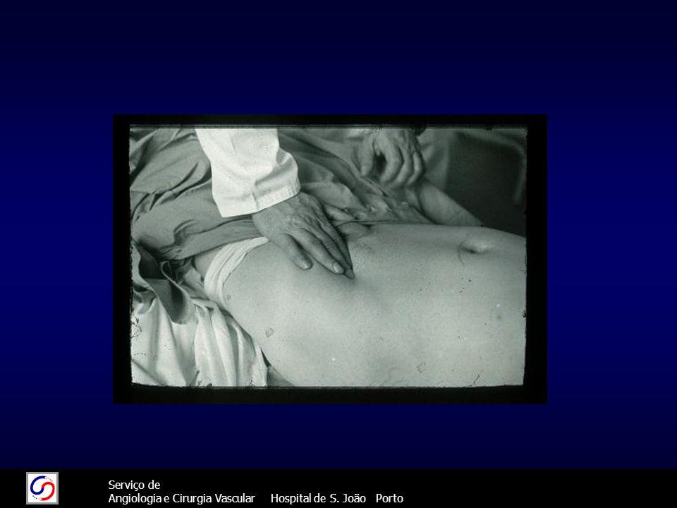 44 Serviço de Angiologia e Cirurgia Vascular Hospital de S. João Porto