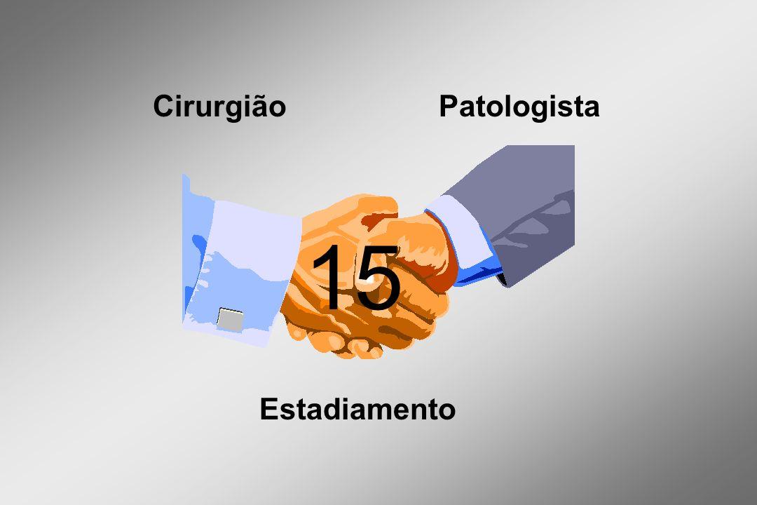 Estadiamento CirurgiãoPatologista 15