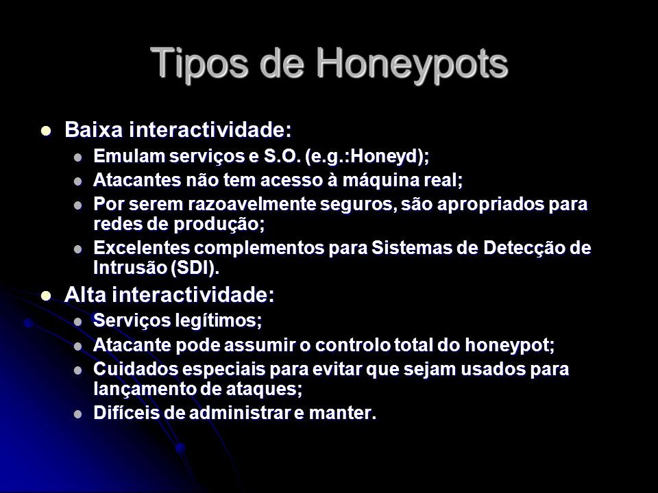Honeyd A framework for virtual honeypots, that simulates virtual computer systems at the network level.