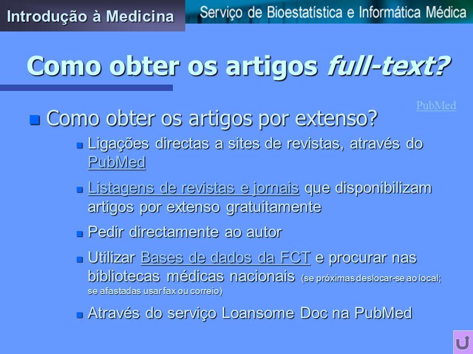 PubMed tutorial n O