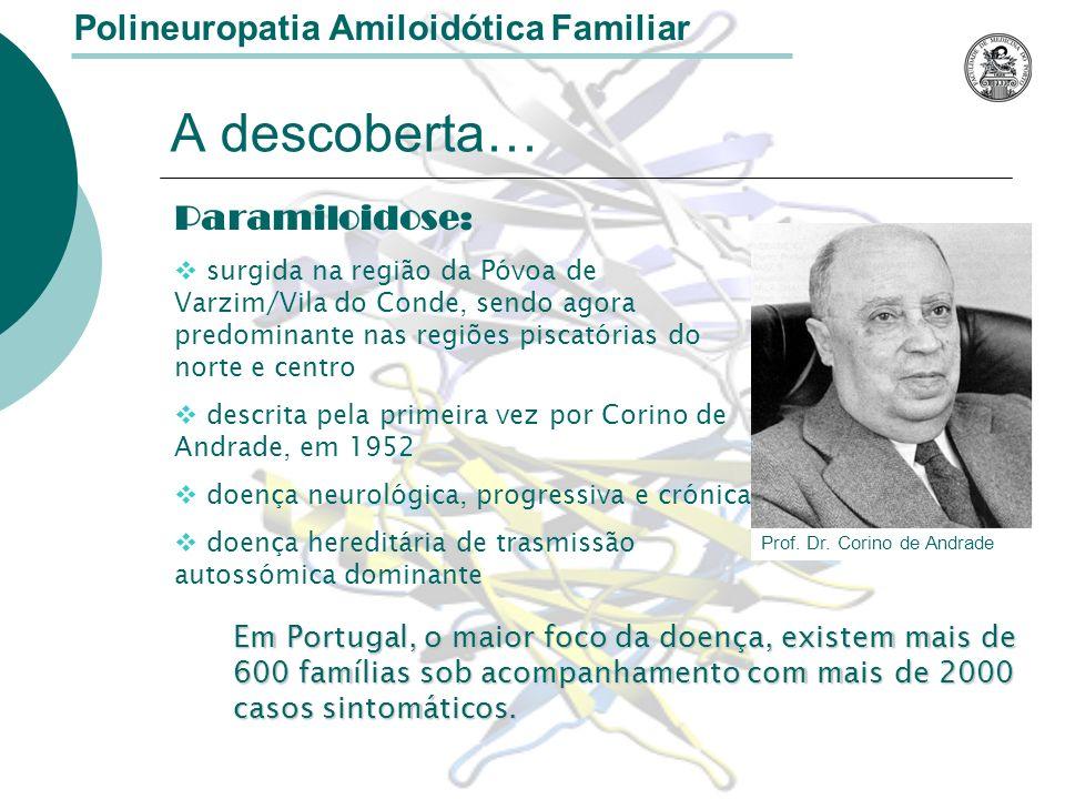 Doença dos pezinhos: no Mundo e em Portugal Polineuropatia Amiloidótica Familiar