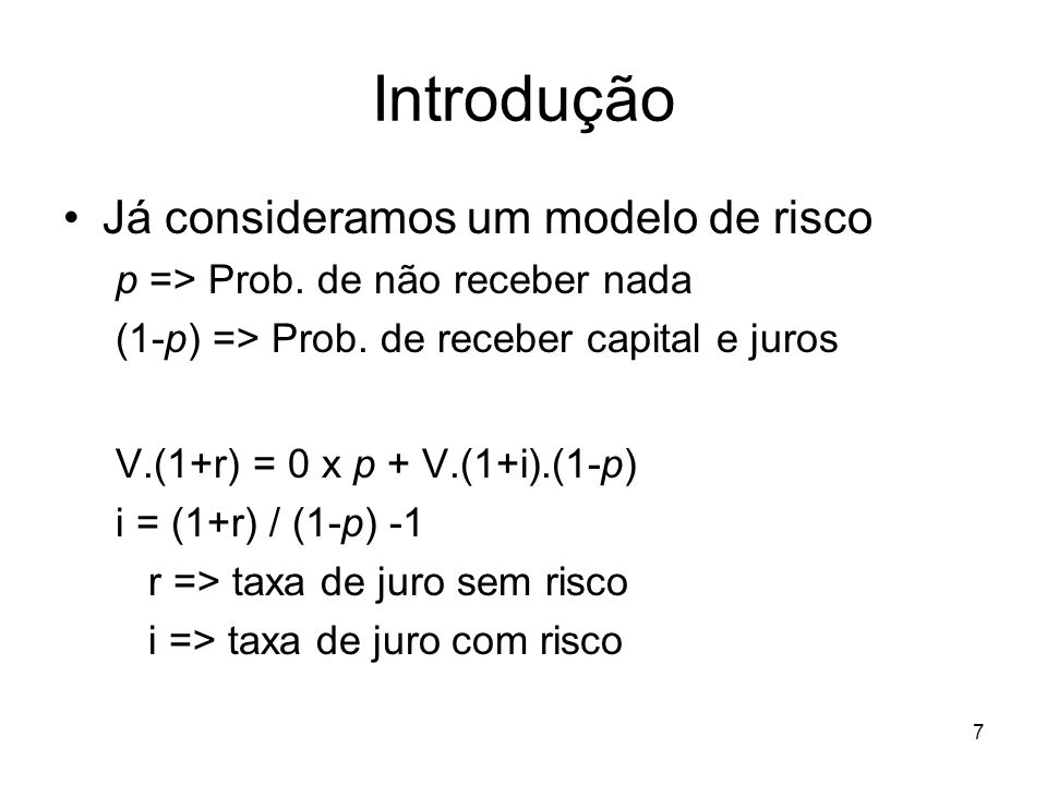 28 Conceitos estatísticos básicos Agora, podemos optimizar uma função objectivo.