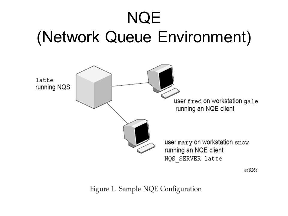 NQE (Network Queue Environment)