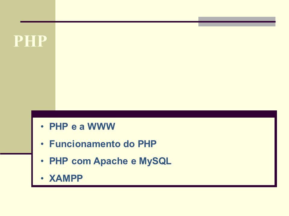 PHP Tipos de dados Variáveis e constantes Operadores Estruturas de controlo