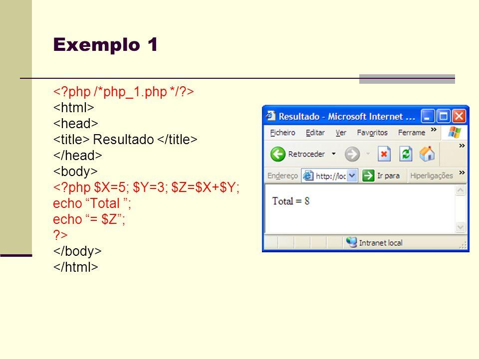 Formulários HTML Botões Radio buttons Seleccion lists Input boxes Checkbox Etc…