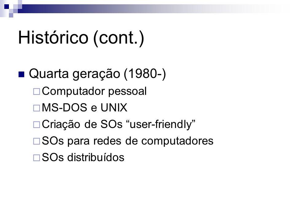 Conceitos básicos Sistema de Operação: difícil definir...