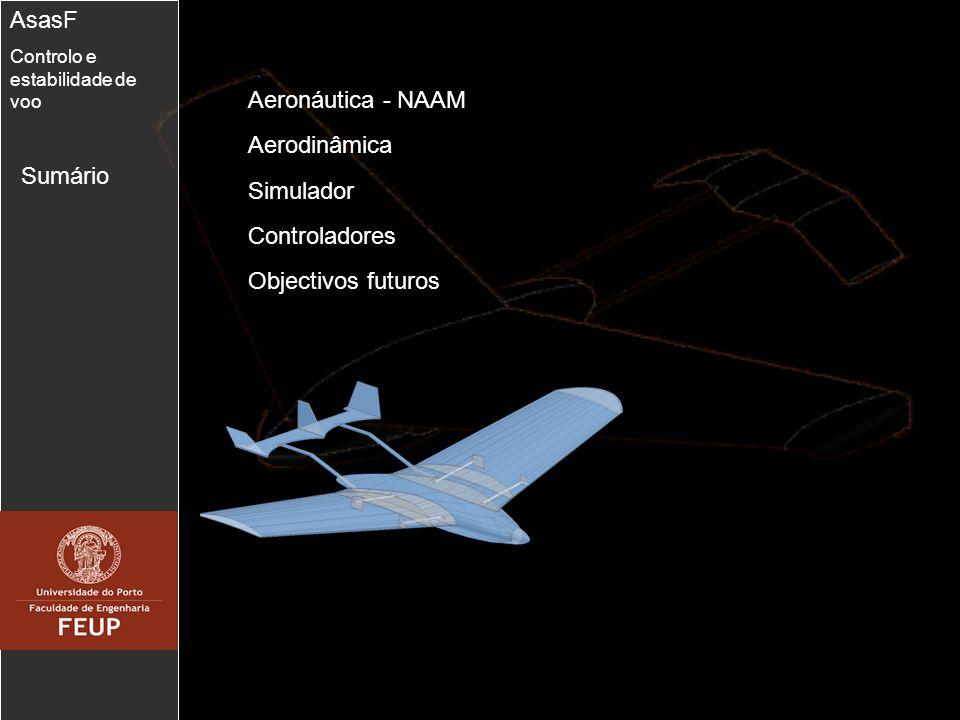 13 Controlador de Velocidade de volta AsasF Controlo e estabilidade de voo