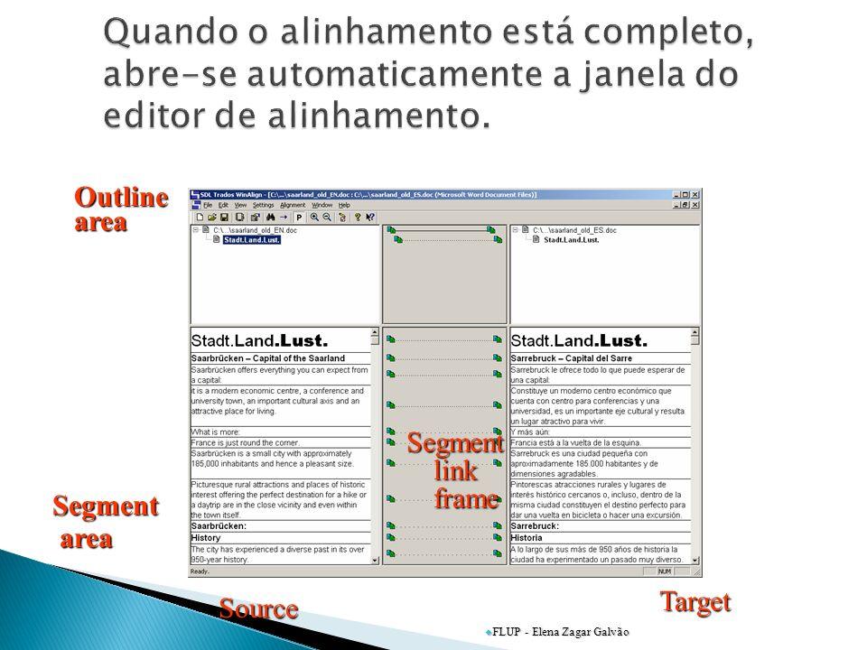 Segment area area Outlinearea Source Target Segment link frame