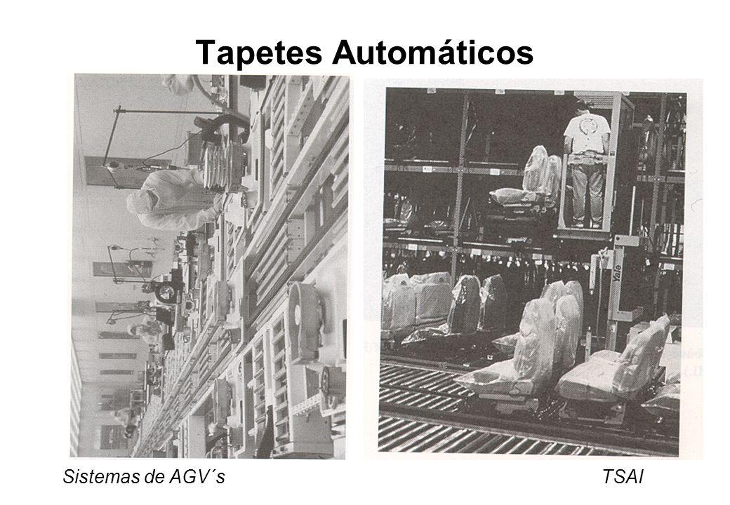 Sistemas de AGV´s TSAI Tapetes Automáticos