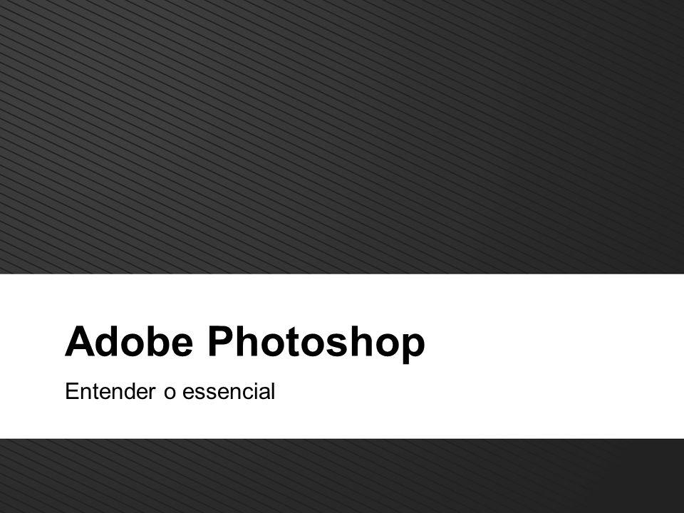 12 TM Adobe photoshop Photoshop Barra de ferramentas Janelas com: Formatação de caracteres Formatação de parágrafos Zoom ( Navigator) Cores Histórico Camadas ( Layers ) Canais Opções