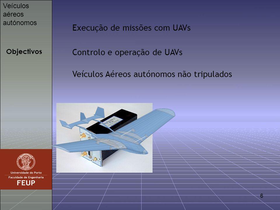 7 Ponto de Partida Veículos aéreos autónomos Brutus Super Telemaster Brutus v2