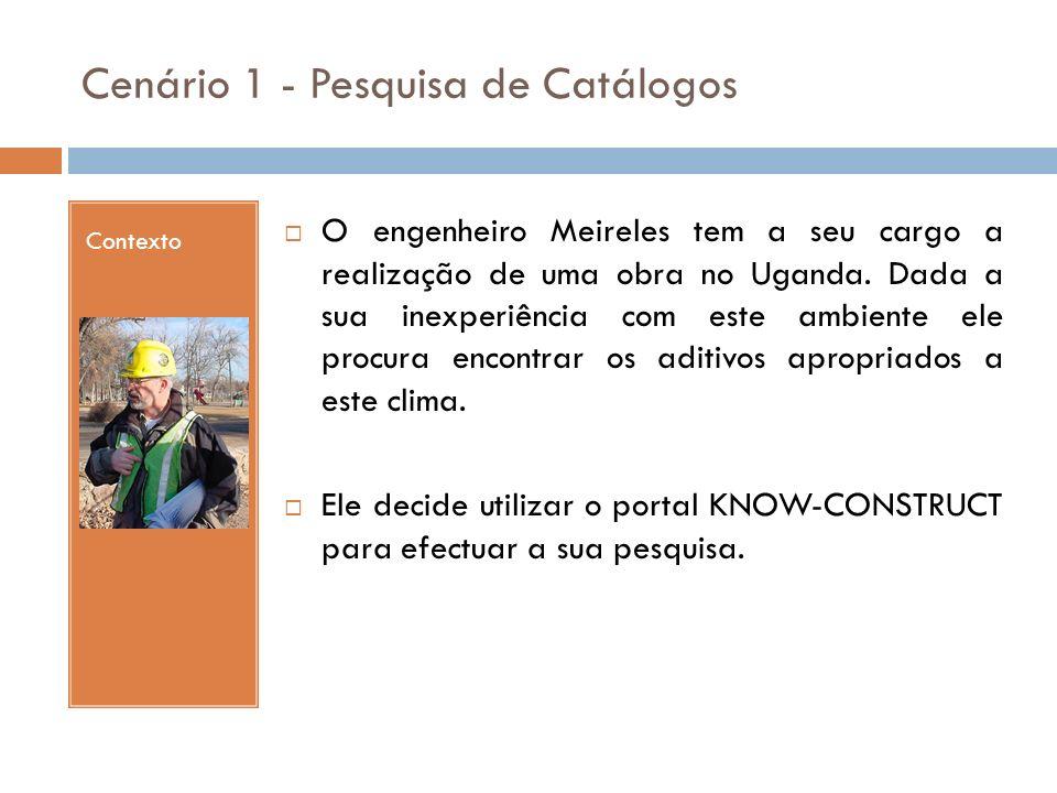 Contexto O engenheiro Meireles tem a seu cargo a realização de uma obra no Uganda. Dada a sua inexperiência com este ambiente ele procura encontrar os