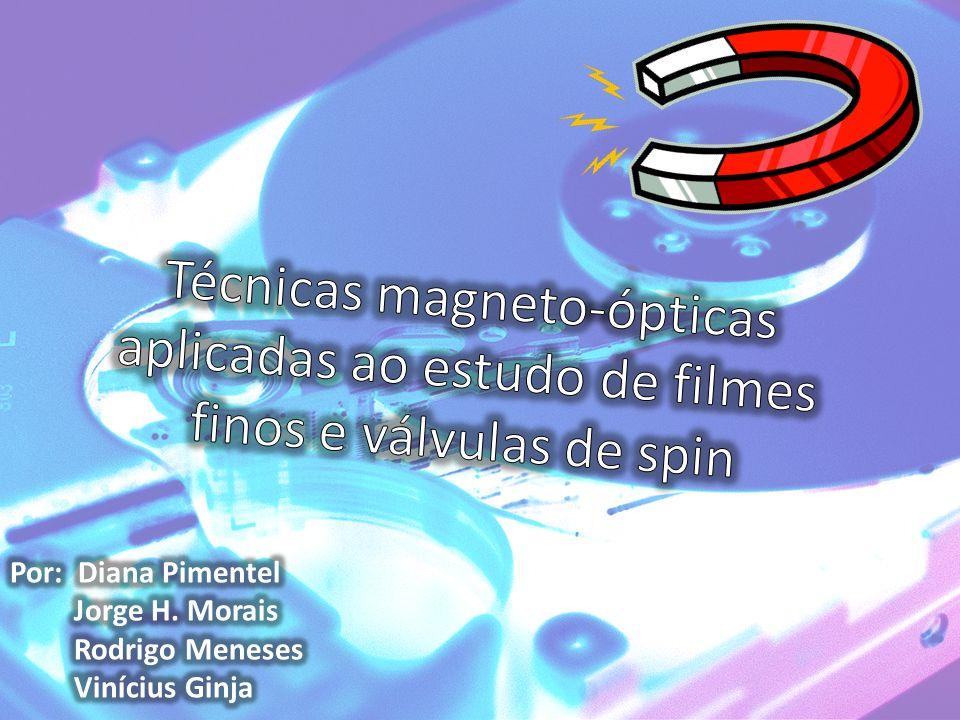 Medição da magnetização da válvula de spin