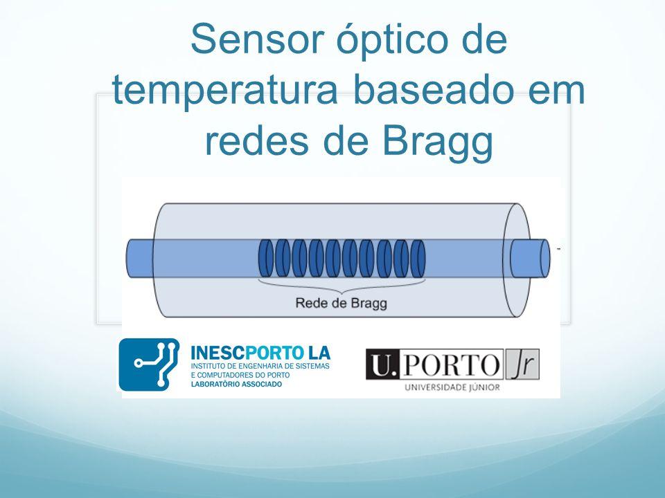 Fibras ópticas Sensores de fibra óptica Redes de difracção Instrumentação virtual Trabalho experimental Conclusões Sumário