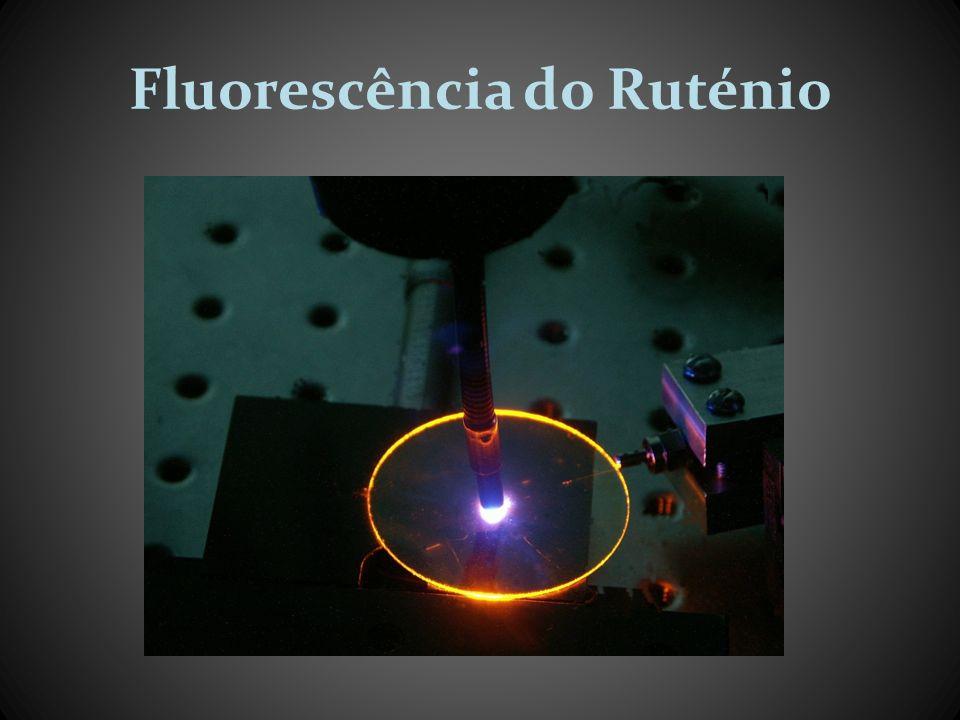 Fluorometria de fase Quando o material é estimulado por radiação de excitação, modulada sinusoidalmente, à resposta luminescente é também sinusoidal, possuindo a mesma frequência, mas uma modulação e uma fase relativa, que depende do tempo de vida do material.