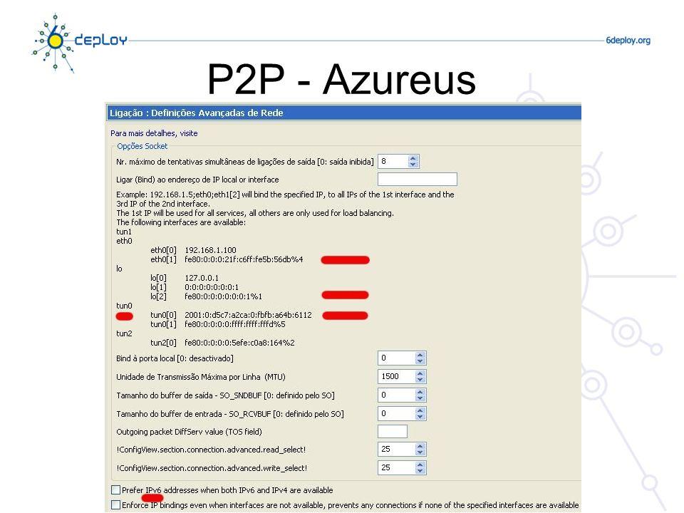 P2P - Azureus