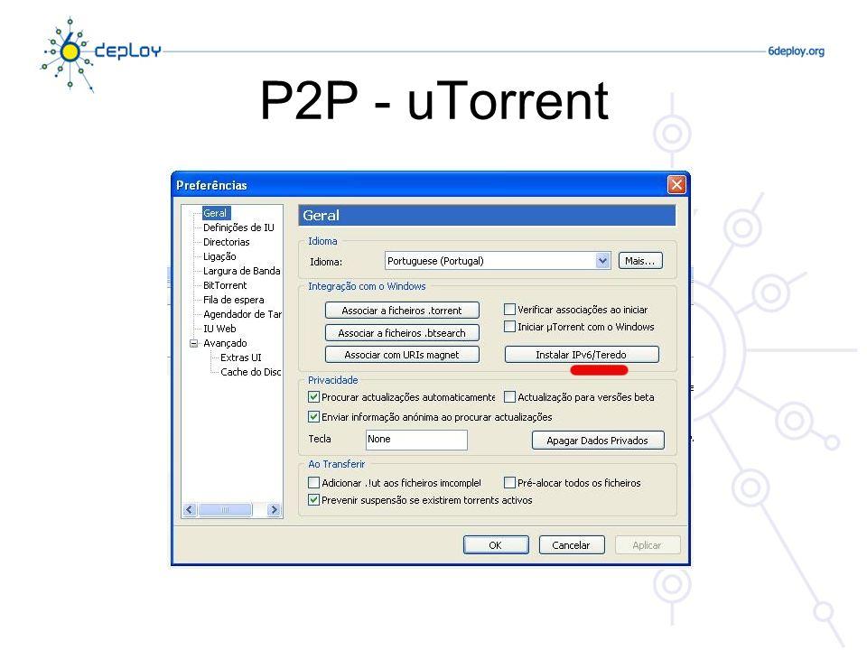 P2P - uTorrent