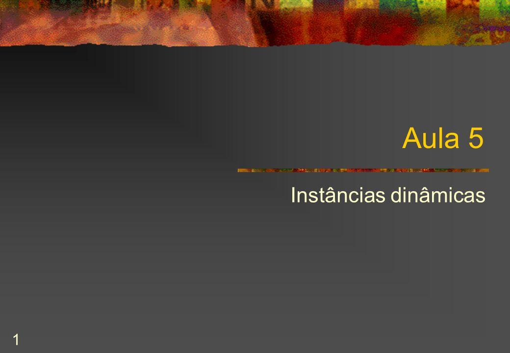 2003/2004 Programação Orientada para Objectos 22 PilhaDeInt : interface /** Representa pilhas de double.