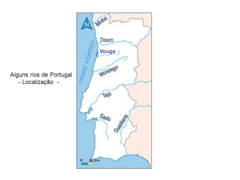 Vouga Alguns rios de Portugal - Localização -