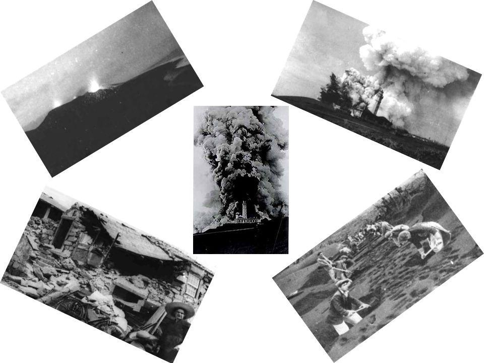 A 12 de Maio de 1958 deu-se novo aumento da actividade do vulcão que expeliu jactos de lava com cerca de 50 metros de altura. A expulsão de lava termi
