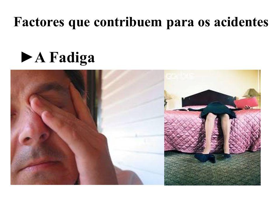 Factores que contribuem para os acidentes A Fadiga