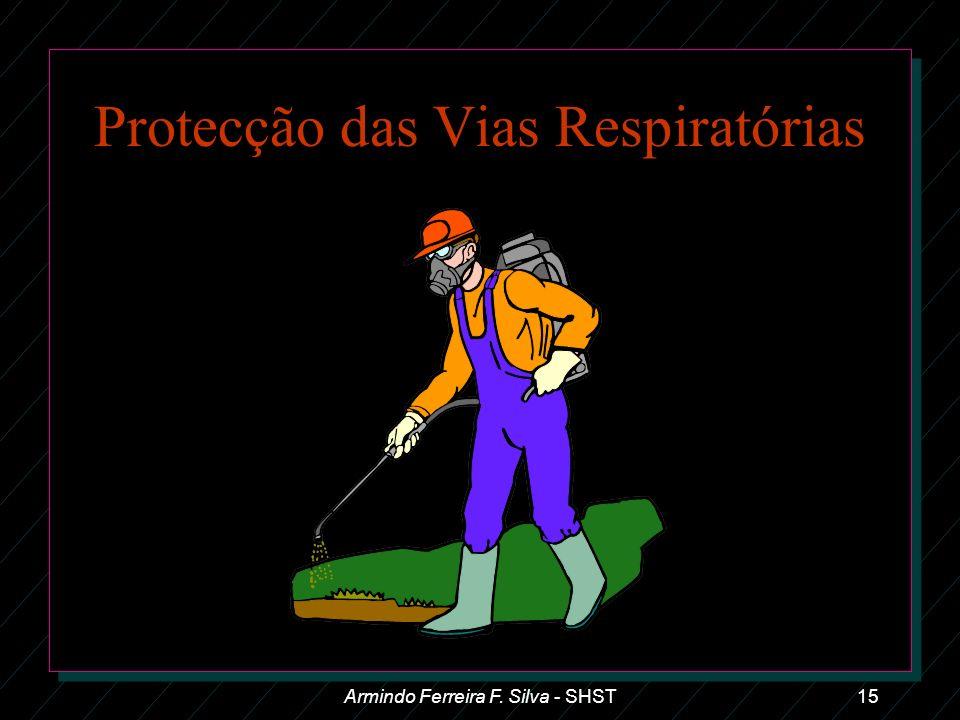 Protecção das Vias Respiratórias Armindo Ferreira F. Silva - SHST15