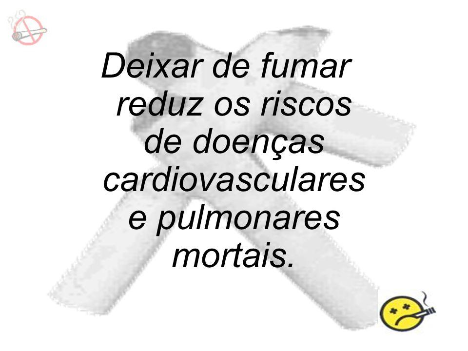Efeitos do tabaco Podem Provocar Doenças cardíacas Úlceras no estômago Doenças circulatórias Doenças respiratórias Cancro Bronquite Lesões no feto em grávidas