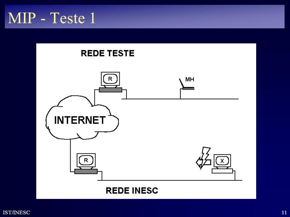 11 IST/INESC MIP - Teste 1