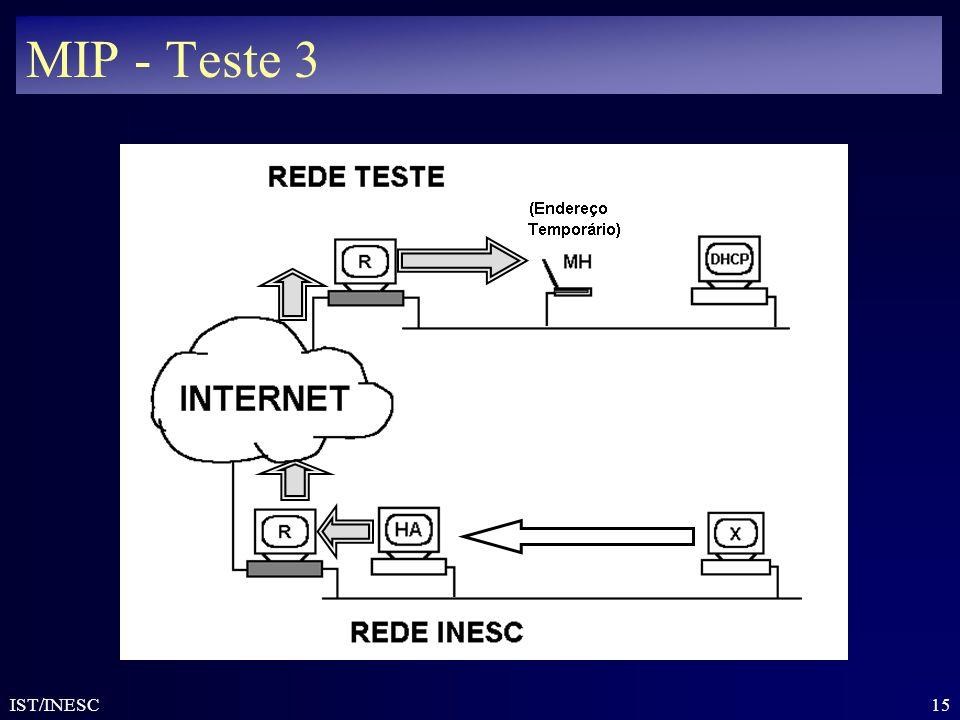 15 IST/INESC MIP - Teste 3