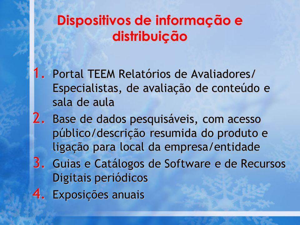 Dispositivos de informação e distribuição 1.
