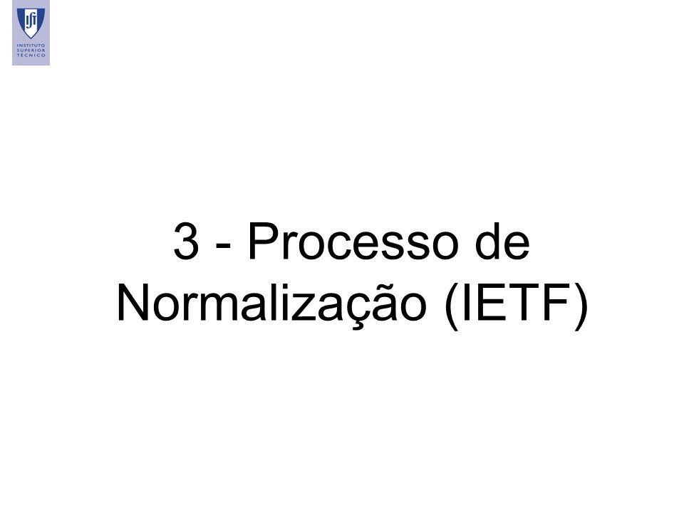 16 3 - Processo de Normalização (IETF)