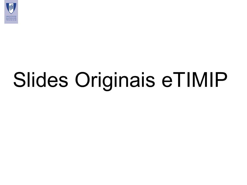 42 Slides Originais eTIMIP