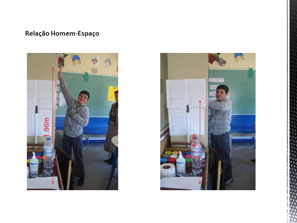 Estudo projetual - Representação técnica de formas Planta da sala de Educação Especial – desenho aproximado à escala 1:40 com localização da parede sensorial a azul.