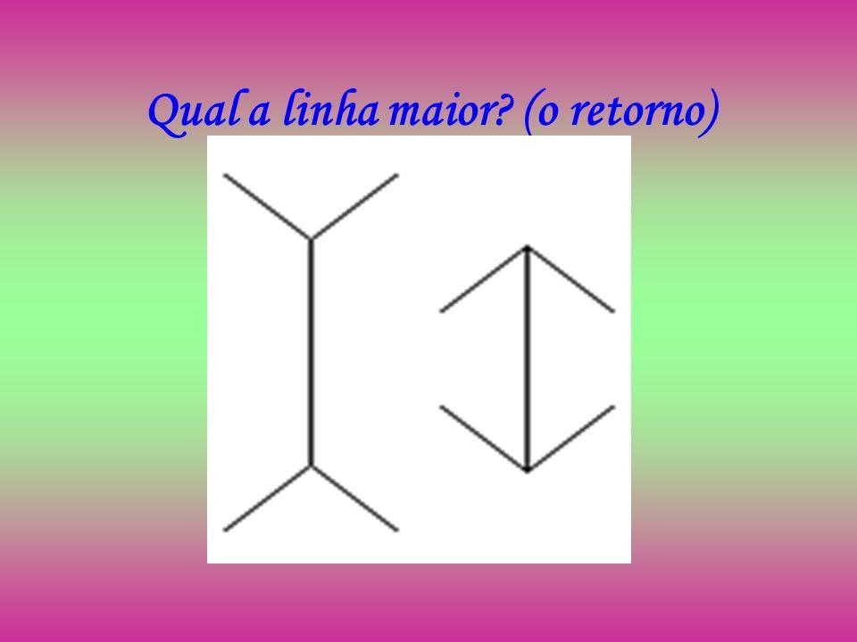 Resposta As duas linhas verticais têm o mesmo tamanho