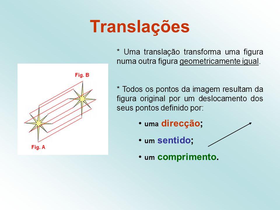 Vector Um vector fica então definido desde que se conheça: a direcção (que é dada pela recta onde esse vector se encontra - a recta suporte do vector) o sentido (um dos dois possíveis na direcção) o comprimento (ou norma)