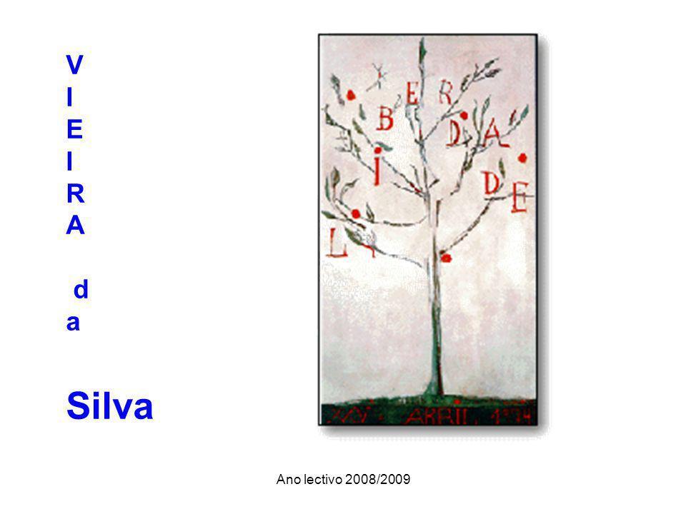 Ano lectivo 2008/2009 V I E I R A d a Silva