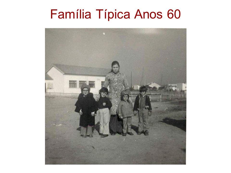 Família Típica Anos 60