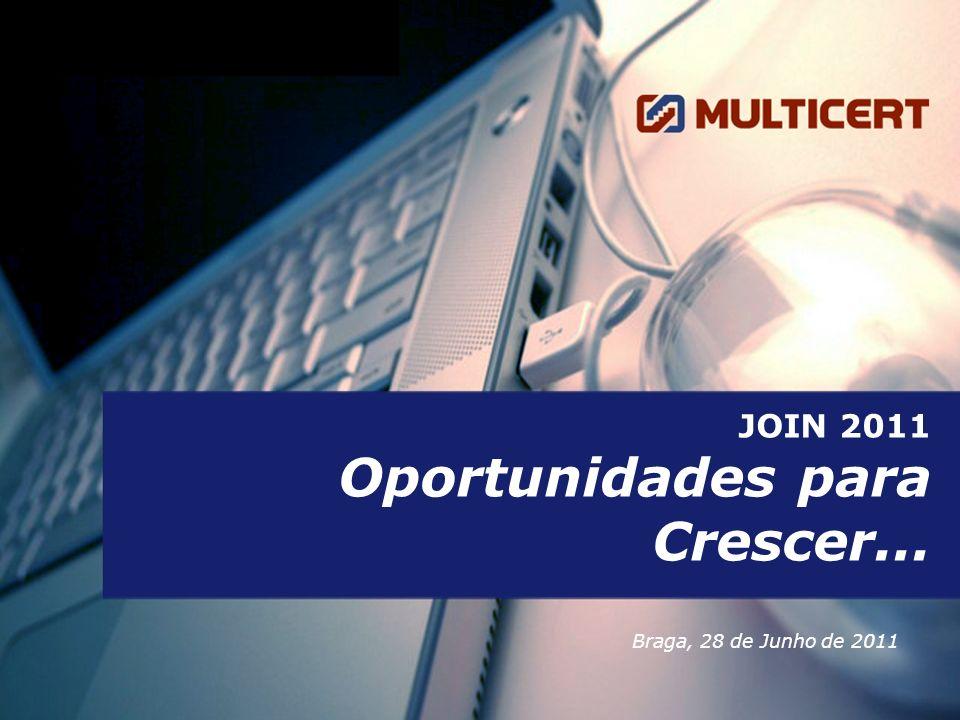 12 © MULTICERT 2011 – Todos os direitos reservados.