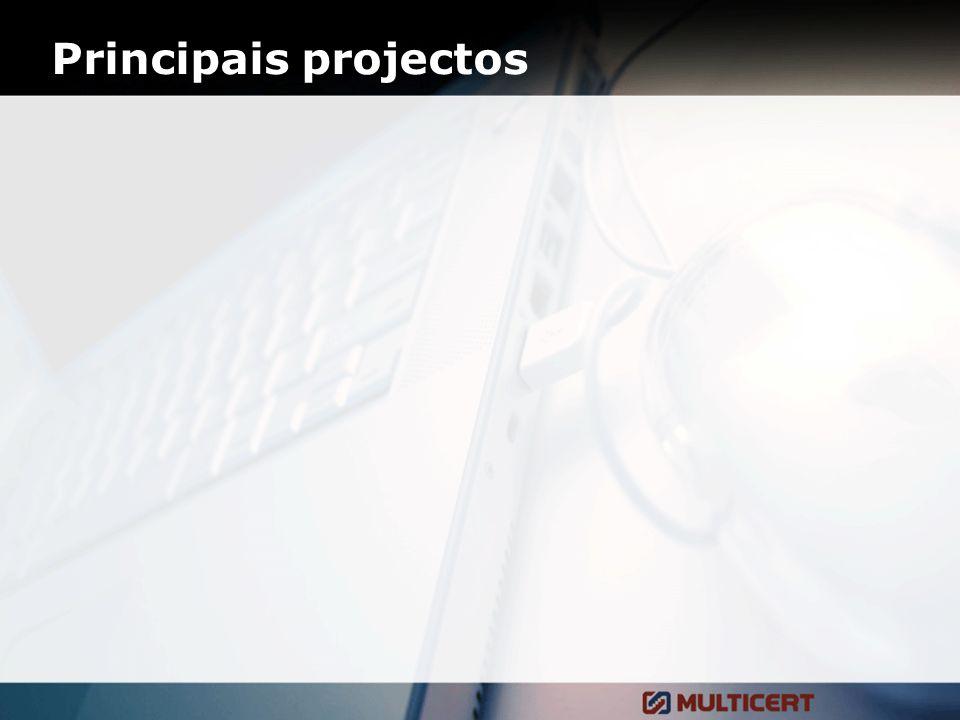 Principais projectos