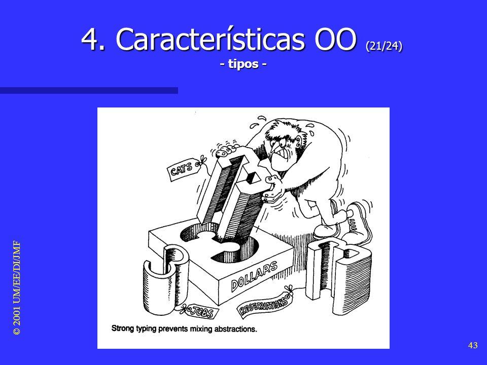 © 2001 UM/EE/DI/JMF 42 4. Características OO (20/24) - concorrência -