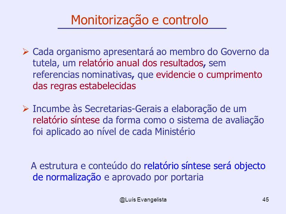@Luís Evangelista45 Cada organismo apresentará ao membro do Governo da tutela, um relatório anual dos resultados, sem referencias nominativas, que evi