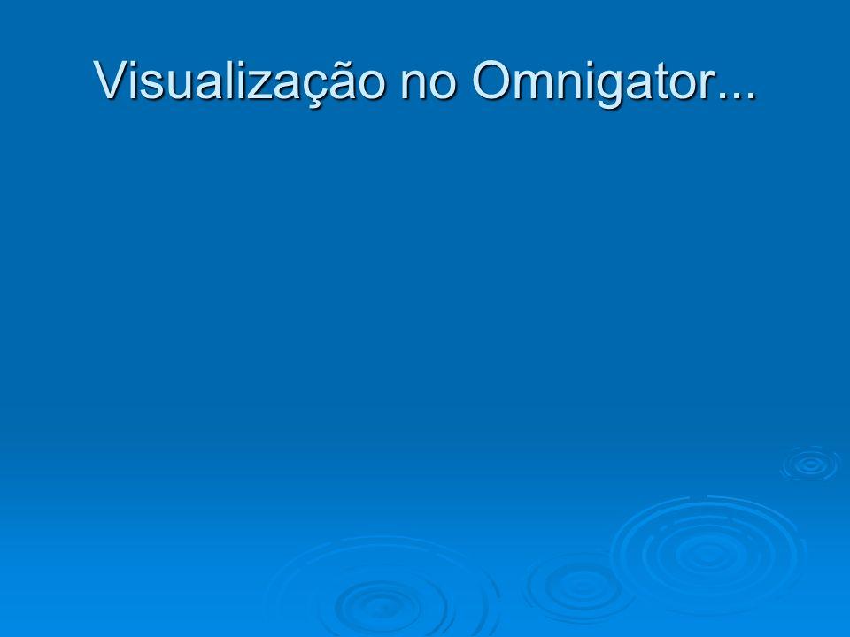 Visualização no Omnigator...