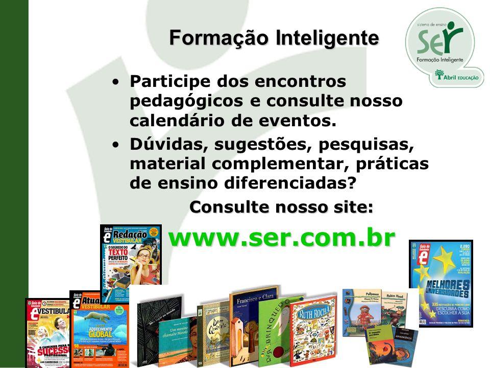 Participe dos encontros pedagógicos e consulte nosso calendário de eventos. Dúvidas, sugestões, pesquisas, material complementar, práticas de ensino d