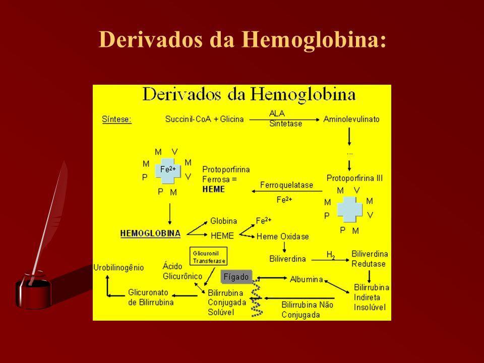 Derivados da Hemoglobina: